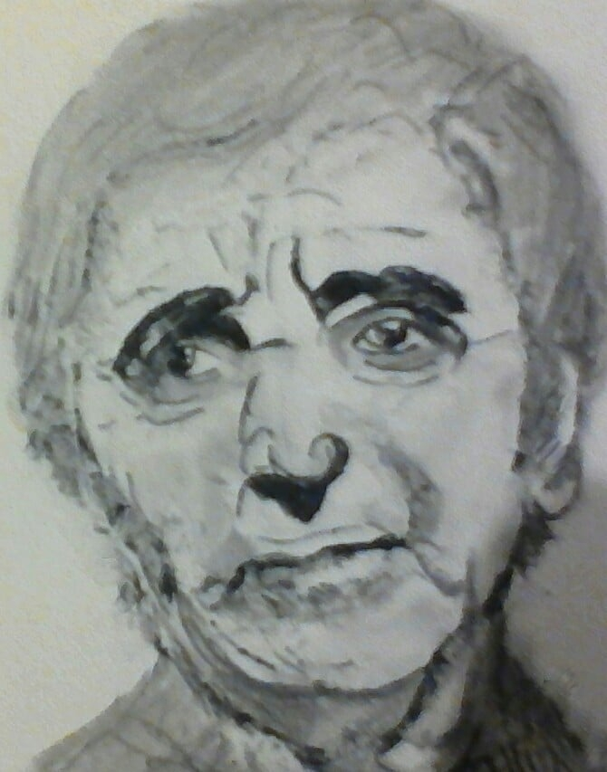 Charles Aznavour por maline